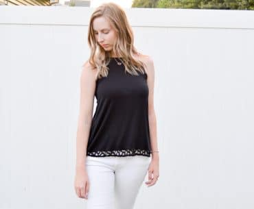 Stitch Fix Black Tank Top