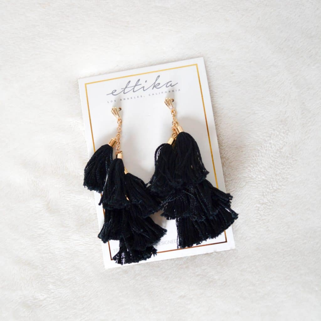 FabFitFun Spring 2018 Subscription Box Tassel Earrings